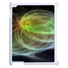 Yellow Smoke Apple Ipad 2 Case (white) by BangZart