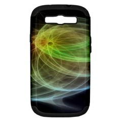 Yellow Smoke Samsung Galaxy S Iii Hardshell Case (pc+silicone) by BangZart