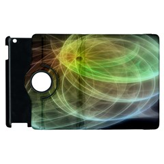 Yellow Smoke Apple Ipad 3/4 Flip 360 Case