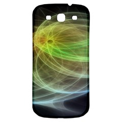 Yellow Smoke Samsung Galaxy S3 S Iii Classic Hardshell Back Case by BangZart