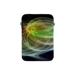 Yellow Smoke Apple Ipad Mini Protective Soft Cases by BangZart