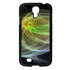 Yellow Smoke Samsung Galaxy S4 I9500/ I9505 Case (black) by BangZart