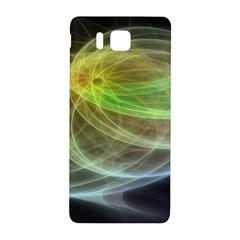 Yellow Smoke Samsung Galaxy Alpha Hardshell Back Case