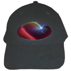 Neon Heart Black Cap by BangZart