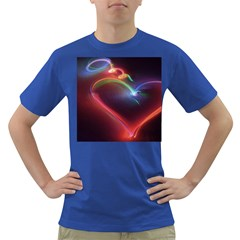 Neon Heart Dark T Shirt