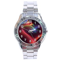 Neon Heart Stainless Steel Analogue Watch by BangZart