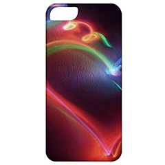 Neon Heart Apple Iphone 5 Classic Hardshell Case by BangZart