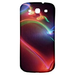 Neon Heart Samsung Galaxy S3 S Iii Classic Hardshell Back Case by BangZart