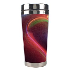 Neon Heart Stainless Steel Travel Tumblers by BangZart