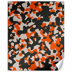 Camouflage Texture Patterns Canvas 11  X 14