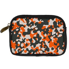Camouflage Texture Patterns Digital Camera Cases by BangZart