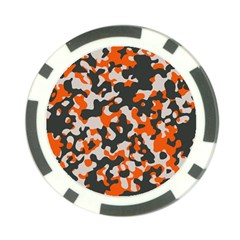 Camouflage Texture Patterns Poker Chip Card Guard (10 Pack)