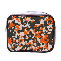 Camouflage Texture Patterns Mini Toiletries Bags by BangZart
