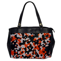 Camouflage Texture Patterns Office Handbags