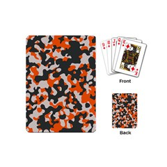 Camouflage Texture Patterns Playing Cards (mini)
