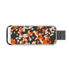 Camouflage Texture Patterns Portable Usb Flash (one Side) by BangZart