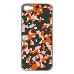Camouflage Texture Patterns Apple Iphone 5 Case (silver) by BangZart