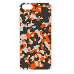 Camouflage Texture Patterns Apple Iphone 5 Seamless Case (white)