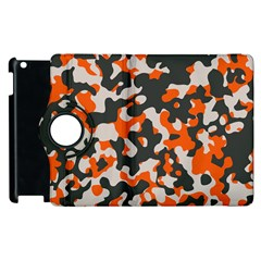 Camouflage Texture Patterns Apple Ipad 3/4 Flip 360 Case