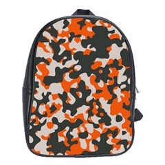 Camouflage Texture Patterns School Bags (xl)  by BangZart