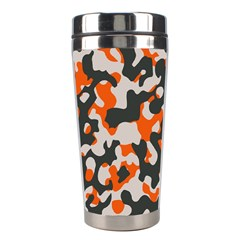 Camouflage Texture Patterns Stainless Steel Travel Tumblers by BangZart