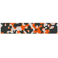 Camouflage Texture Patterns Flano Scarf (large) by BangZart