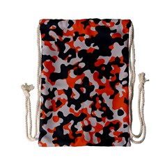 Camouflage Texture Patterns Drawstring Bag (small)