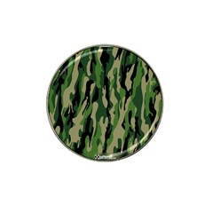 Green Military Vector Pattern Texture Hat Clip Ball Marker