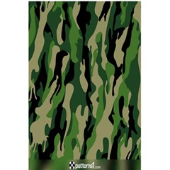 Green Military Vector Pattern Texture 5 5  X 8 5  Notebooks by BangZart