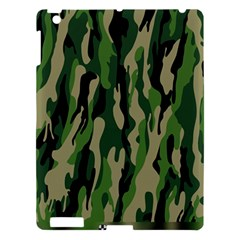 Green Military Vector Pattern Texture Apple Ipad 3/4 Hardshell Case