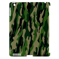 Green Military Vector Pattern Texture Apple Ipad 3/4 Hardshell Case (compatible With Smart Cover) by BangZart