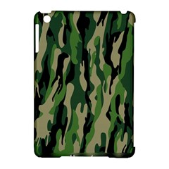 Green Military Vector Pattern Texture Apple Ipad Mini Hardshell Case (compatible With Smart Cover) by BangZart