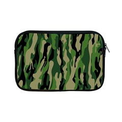 Green Military Vector Pattern Texture Apple Ipad Mini Zipper Cases by BangZart