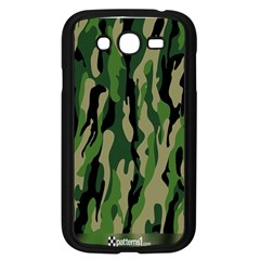 Green Military Vector Pattern Texture Samsung Galaxy Grand Duos I9082 Case (black)