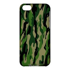 Green Military Vector Pattern Texture Apple Iphone 5c Hardshell Case by BangZart