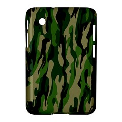 Green Military Vector Pattern Texture Samsung Galaxy Tab 2 (7 ) P3100 Hardshell Case  by BangZart