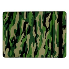 Green Military Vector Pattern Texture Samsung Galaxy Tab Pro 12 2  Flip Case