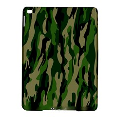 Green Military Vector Pattern Texture Ipad Air 2 Hardshell Cases by BangZart