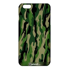 Green Military Vector Pattern Texture Iphone 6 Plus/6s Plus Tpu Case by BangZart