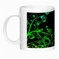 Abstract Colorful Plants Night Luminous Mugs by BangZart