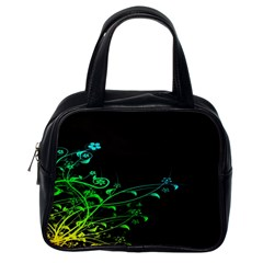 Abstract Colorful Plants Classic Handbags (one Side)
