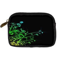 Abstract Colorful Plants Digital Camera Cases