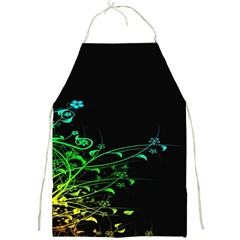 Abstract Colorful Plants Full Print Aprons by BangZart