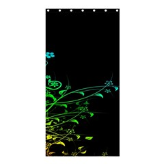 Abstract Colorful Plants Shower Curtain 36  X 72  (stall)  by BangZart