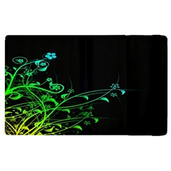 Abstract Colorful Plants Apple Ipad 3/4 Flip Case by BangZart