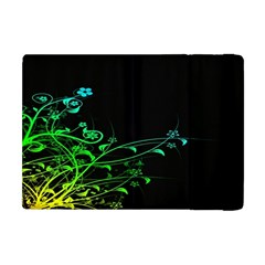 Abstract Colorful Plants Apple Ipad Mini Flip Case by BangZart
