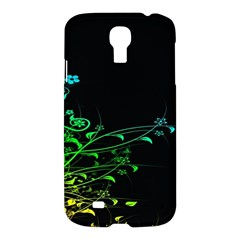 Abstract Colorful Plants Samsung Galaxy S4 I9500/i9505 Hardshell Case