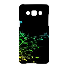 Abstract Colorful Plants Samsung Galaxy A5 Hardshell Case  by BangZart