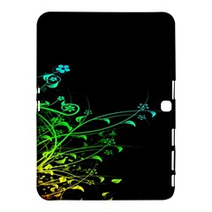 Abstract Colorful Plants Samsung Galaxy Tab 4 (10 1 ) Hardshell Case