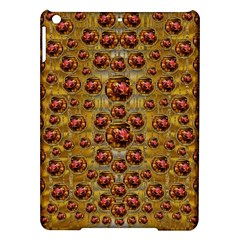 Angels In Gold And Flowers Of Paradise Rocks Ipad Air Hardshell Cases by pepitasart